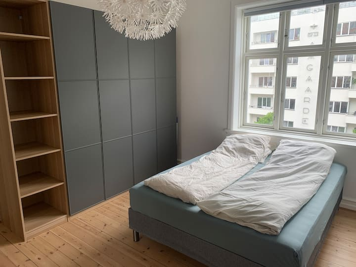Spacious apartment in the heart of Aarhus