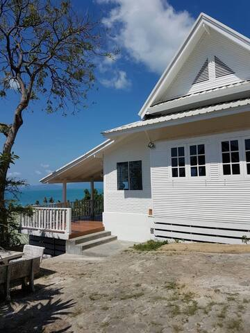 Samui Sea View House with Pool close to the Beach - Ko Samui - Ev