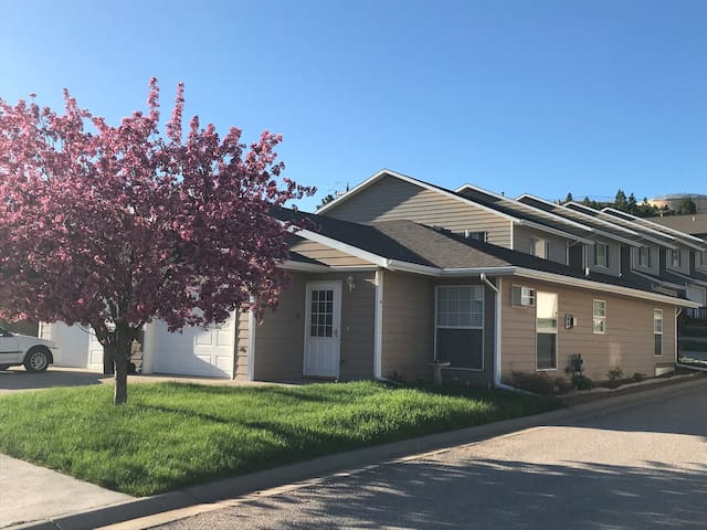 One level-Zero Steps-Clean Spearfish Townhome