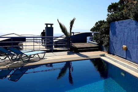 Villa Afrodite PRIVATE POOL on the roof sea view