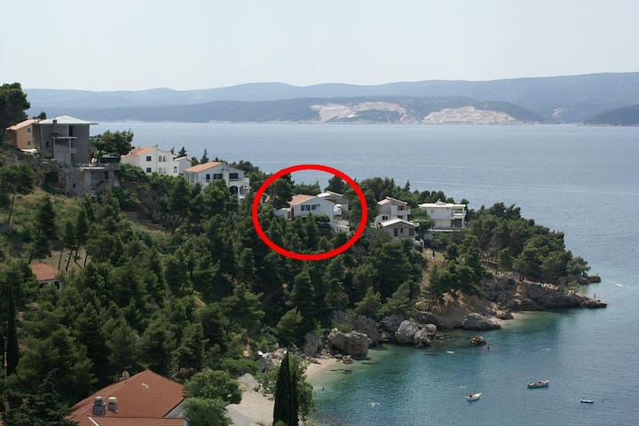 Two bedroom apartment with terrace and sea view Balića Rat, Omiš (A-2753-a) - Stanići - 公寓
