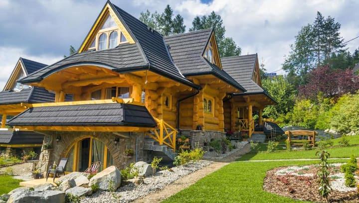Luxury Mountain Chalet-Turquoise
