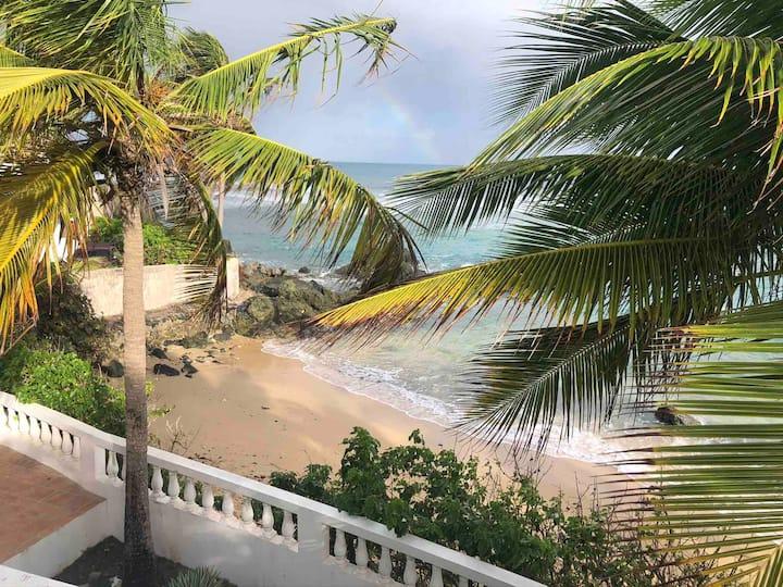 Los Cocos, a private beachfront villa, in Vieques