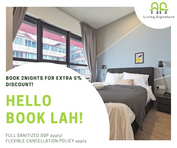 FANTASTIC VIEW | King Bed | 1 BED #ArtePlus