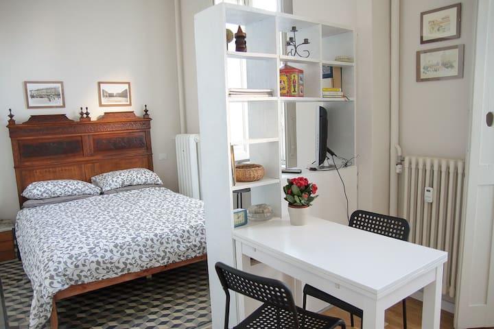 Luminoso monolocale con balcone - Torino - Apartment