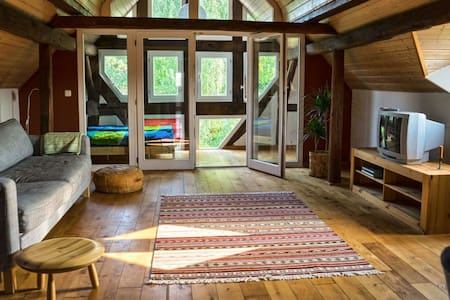 Dachwohnung im Wohnhof - Lahntal - Condomínio