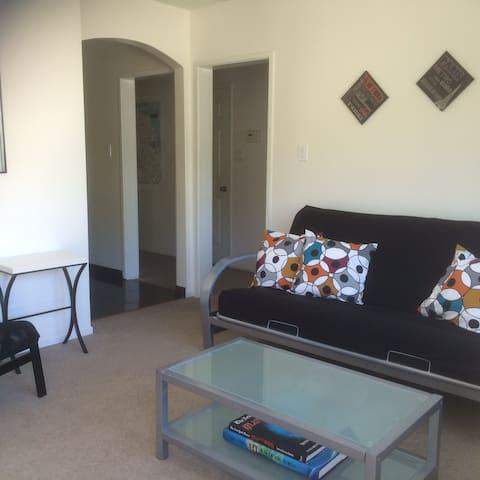 Private Top Floor Gerstle Park Apt - San Rafael - Lägenhet