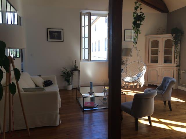 Chambre privée centre de Poitiers - Poitiers - Appartement