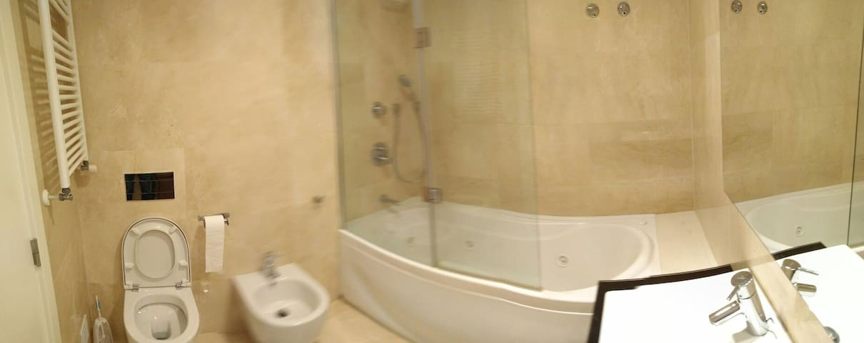 This is your private bathroom