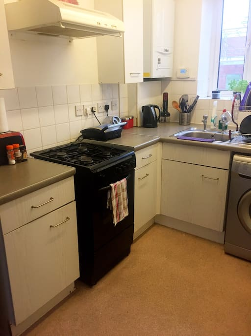 Spacious open kitchen with all the facilities you can need