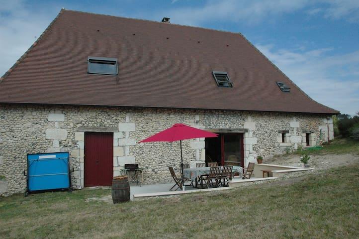 Grande grange entièrement restaurée - Saint-Pierre-de-Chignac - Casa