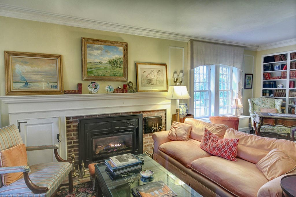 The Living Room with 3 seating areas