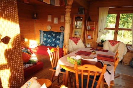 Pokój w drewnianym domu Kaszuby ❤ - Nowa Wieś Przywidzka