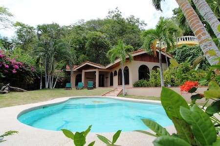 Casa Vista, truly a fantastic vacation rental home  that offers all the amenities  and comforts that will keep you coming back year after year.  Casa Vista is situated a few hundred meters off the beach near Tamarindo's main public beach access. :)
