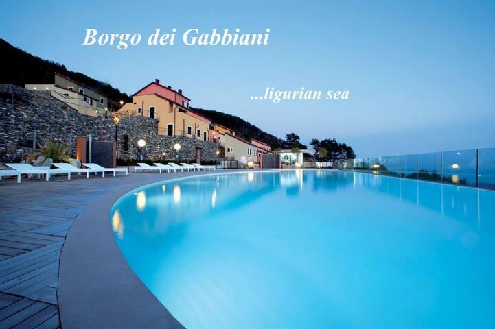 Bellavista con giardino- Borgo dei Gabbiani