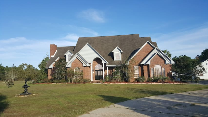 Quiet Country Living in Jack & Jill 2 BR Suite - Panama City - Huis