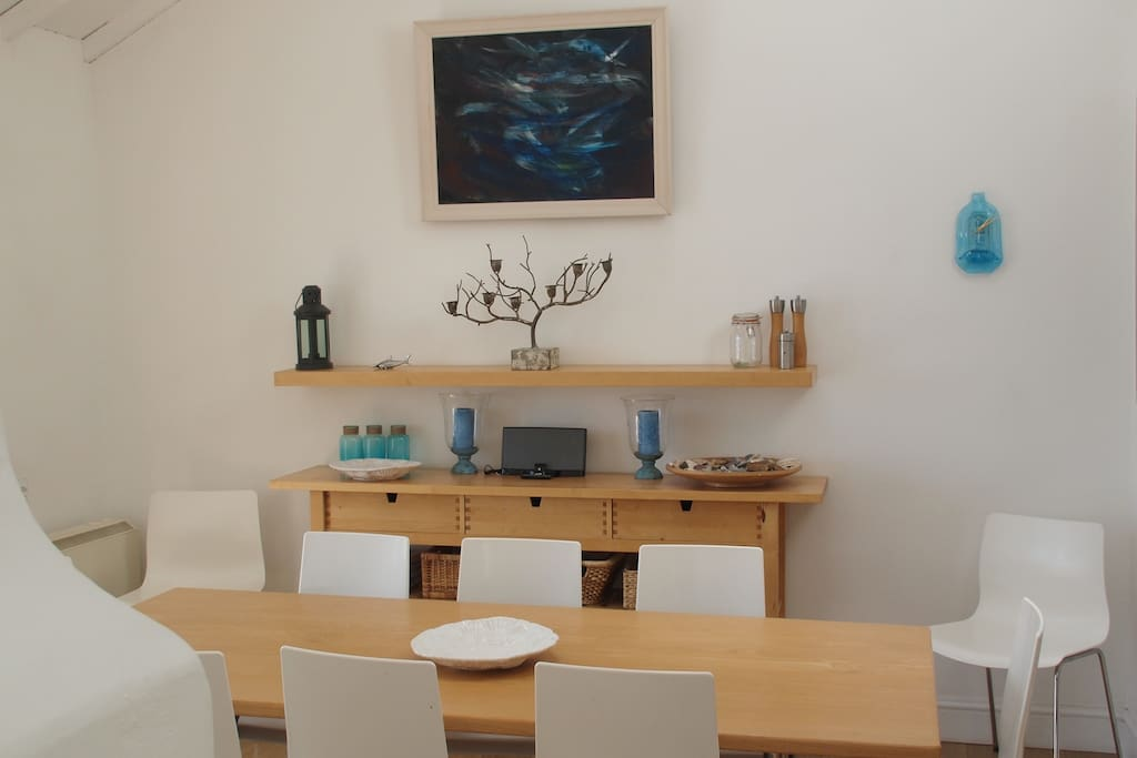 Sociable dining area