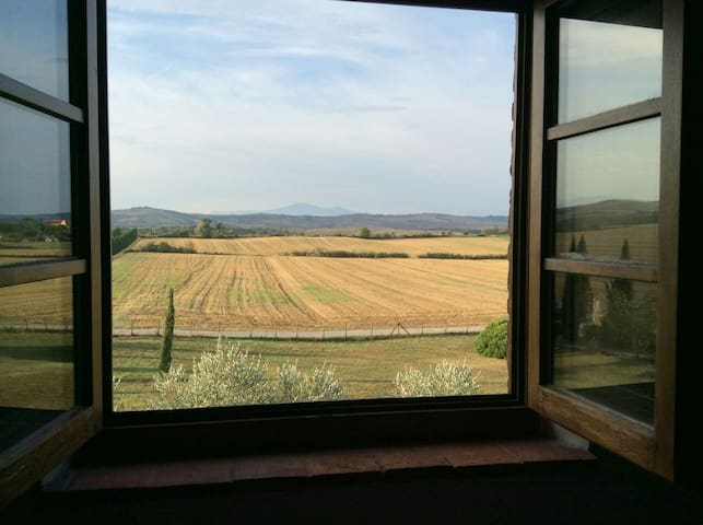 In the heart of stunning Tuscany - Asciano - Maison