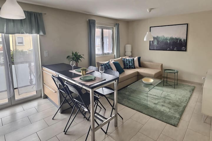The Emerald 8 -  Appartement à 3 min de Bâle