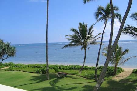 Beachfront Condo on Secluded Beach! - Hauula - Kondominium