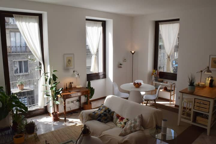 Comfy, Spacious and Sunny flat in historical Milan