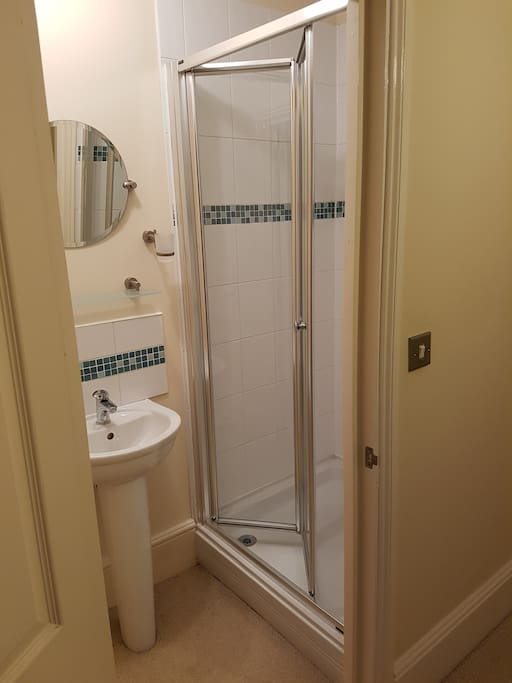 Your private shower room and toilet.