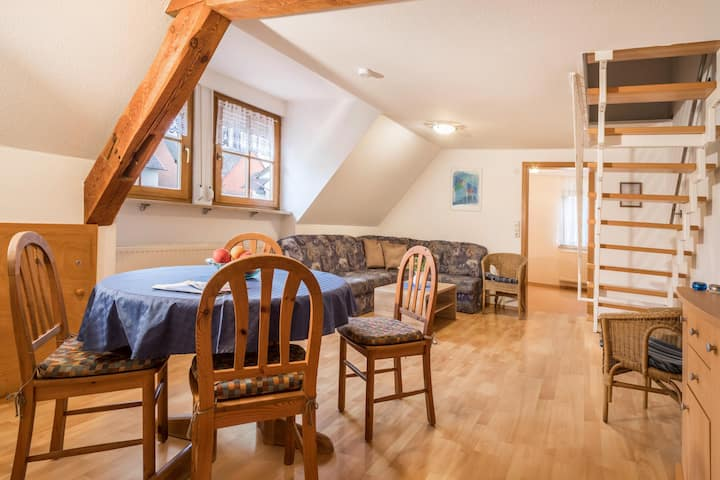 """Charming Duplex Apartment """"4-Star Holiday Apartment No. 2"""" with Wi-Fi, Garden & Terrace; Parking Available"""