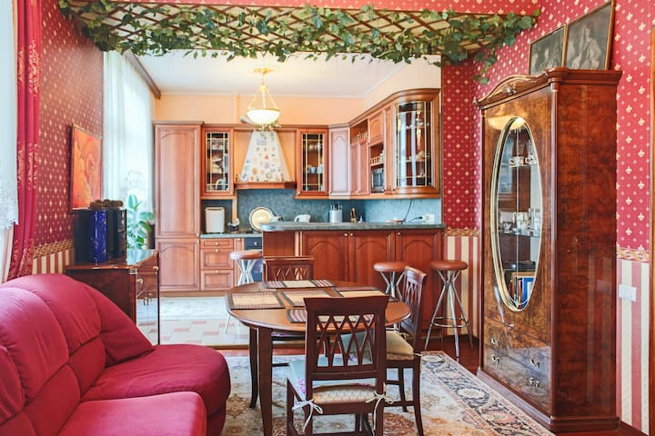 Apartment in Gorky park.