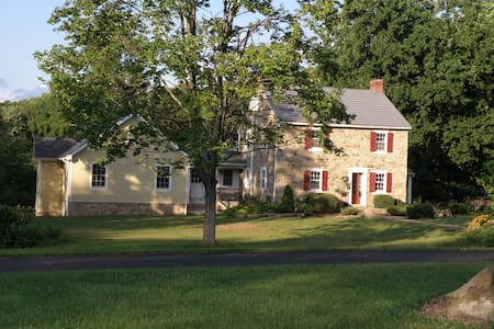 Historic Farmette, Bedroom Full Bed - Macungie - Hus