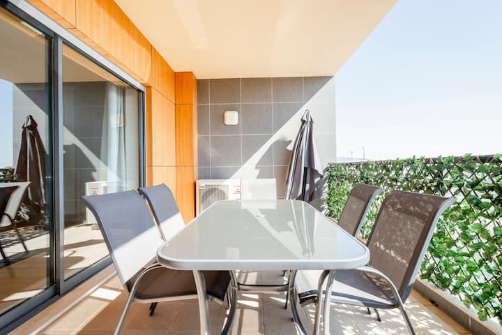 ★ Lux Apartment w/Pool Seaside Prainha Algarve ★