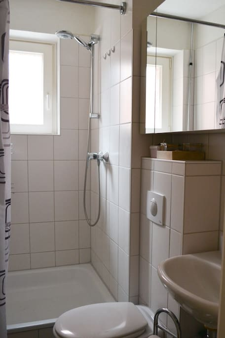 new and clean bathroom