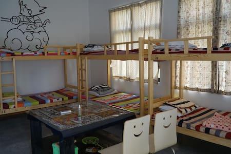 藏藏时光青年旅舍,8人混住床位房~那些年 - Zhuhai