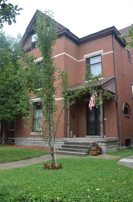 1890's 3-story brick home in Old Louisville