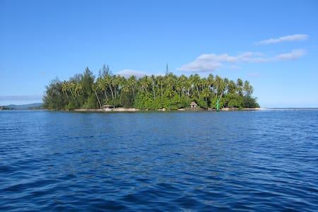 Private Island Paradise! - Mataiea - Eiland