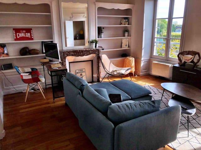 Magnifique appartement sur les quais de Saône 🏡❤️