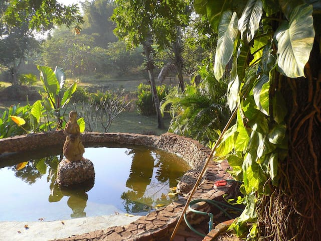 Sai Yok bungalow, River Kwai noi - Lum Sum - Rumah