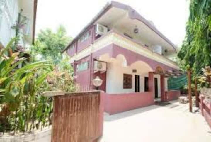 Just 300 mts from Baga Beach and Titos Bar in Goa