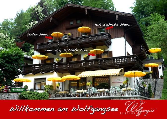 Pension Wolfgangsee - 3 Stars House - Sankt Wolfgang im Salzkammergut - Bed & Breakfast