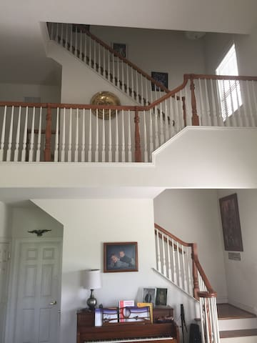 Family Room -Back Stairs to Second Floor and Play Room