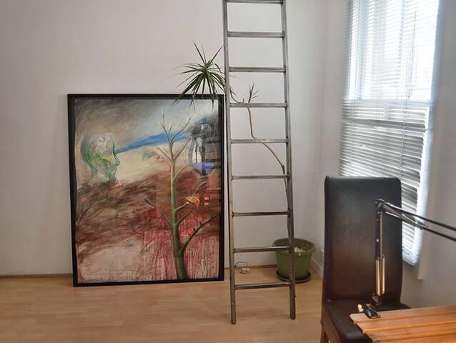 Original artwork in the room
