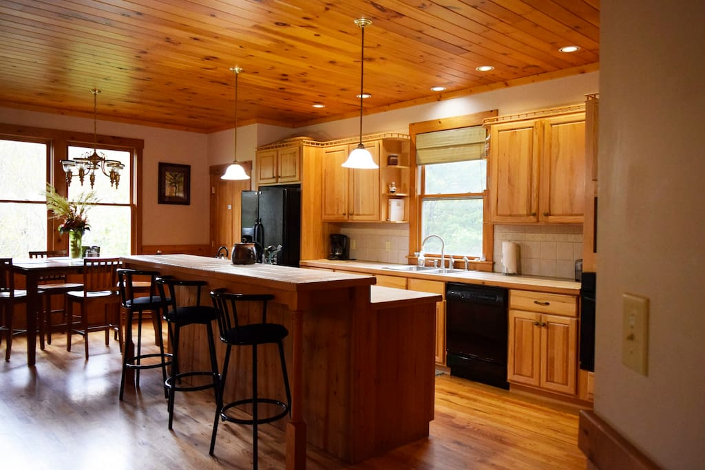 Full gourmet kitchen with all appliances & utensils you may need.