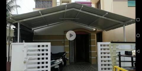 individual villa with self cooking facility