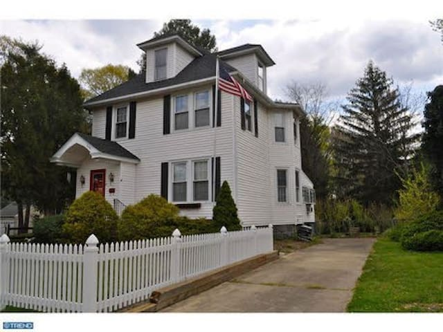 Charming Home Near Train-Papalvisit - Haddon Township - Huis