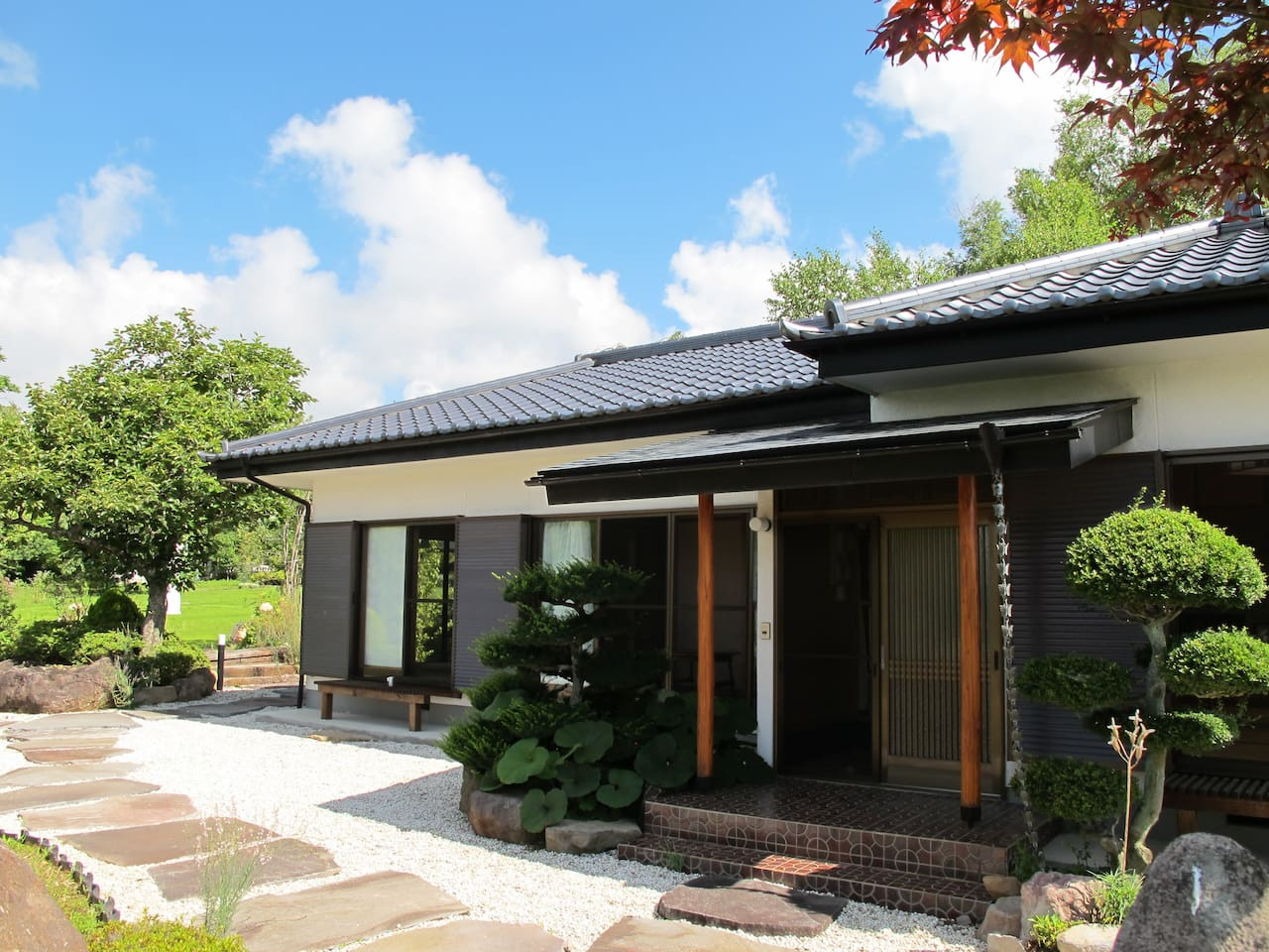 Japanese-Style house w/all Tatami room