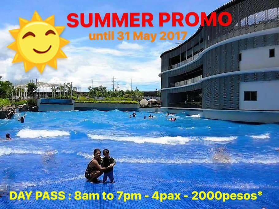 *Day Pass Rate does not include swim band fee of 500pesos per pax