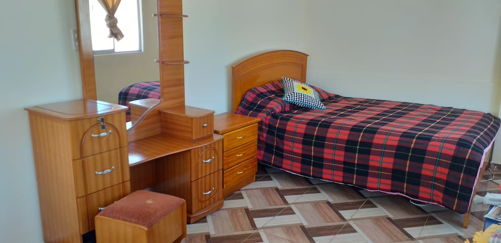 Quito/Apartamento amplio, cómodo, luminoso,seguro
