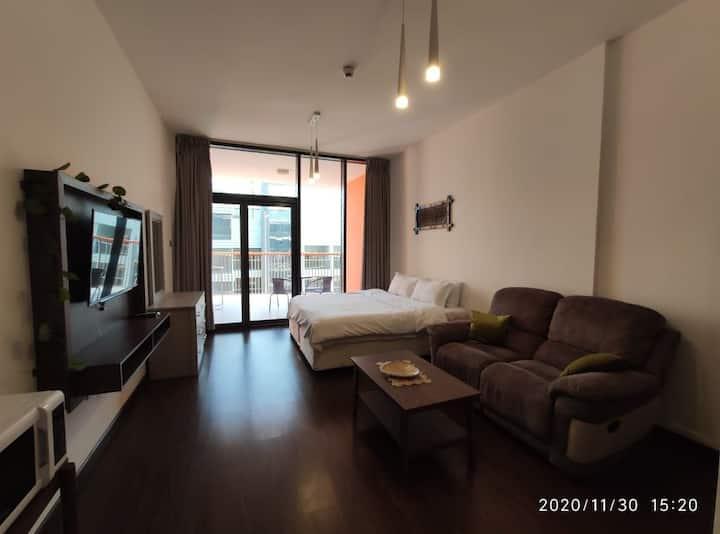 L07 Luxury studio, big balcony in Dso  super host