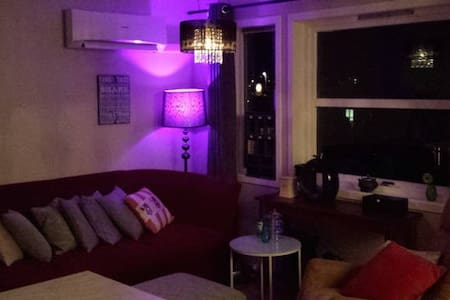 Nice bedroom in a great apartment - Ulsteinvik - Byt