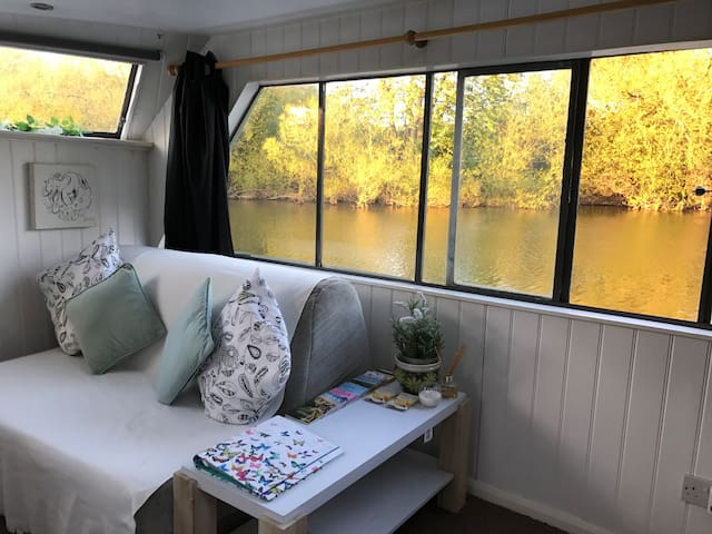 Houseboat in York. - Bishopthorpe - Appartement