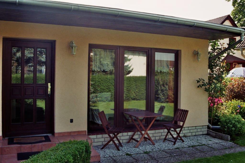 Komfortabler bungalow bungalows zur miete in berlin for Bungalow berlin